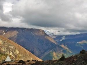 Ein Stupa mit Ausblick