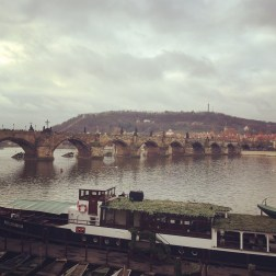 Vltava and Charles Bridge