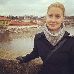 Me at the Charles Bridge
