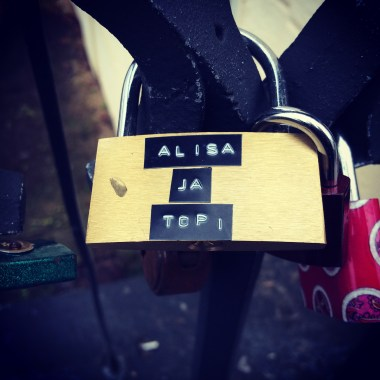 Love lock from Finland :)