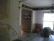 Kitchen gutted