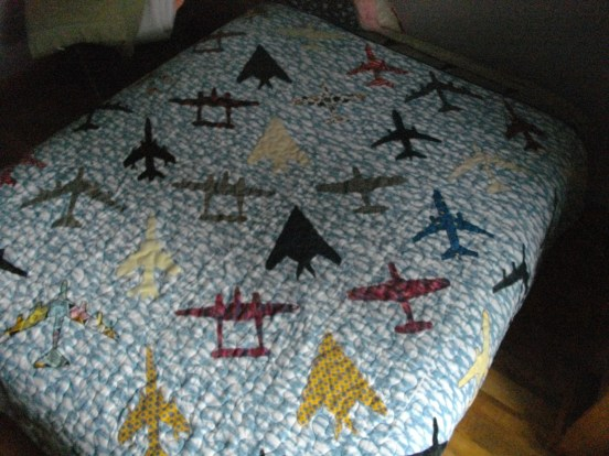 A view of the whole quilt