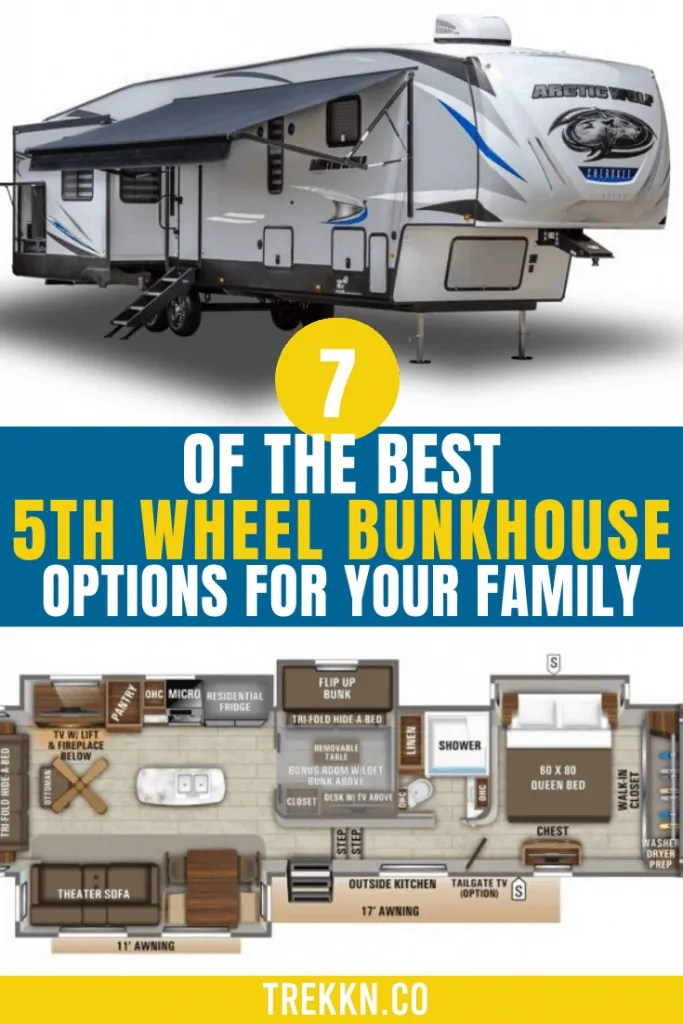New 2022 forest river sabre cobalt 36bhq mid bunk 2 bedroom 5th fifth wheel sale. Top 7 5th Wheel Bunkhouse Options For Your Family