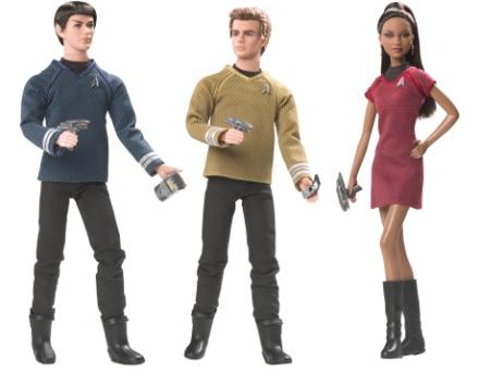 New! Barbie as Mashup -- Star Trek style