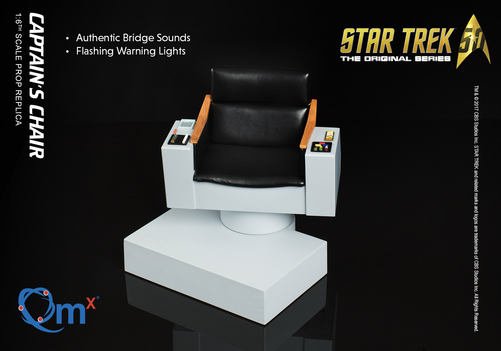 star trek captains chair design wood sdcc exclusives announced from hallmark and bif
