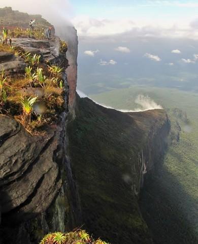 Vista linda do Topo do Monte