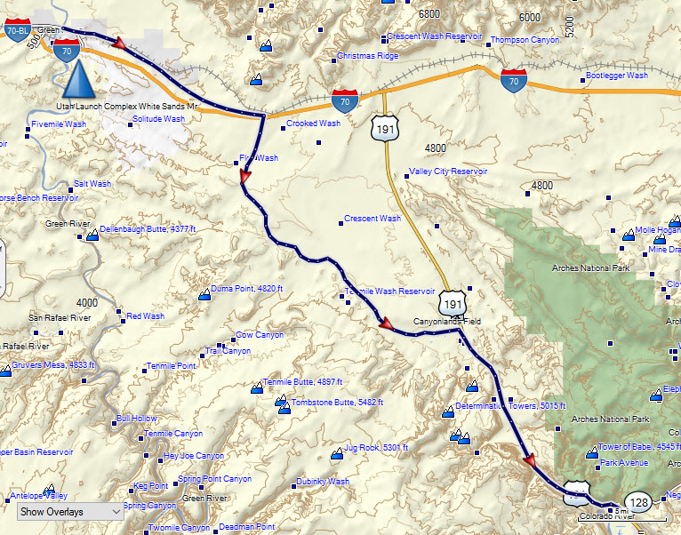 Green River to Moab Trail