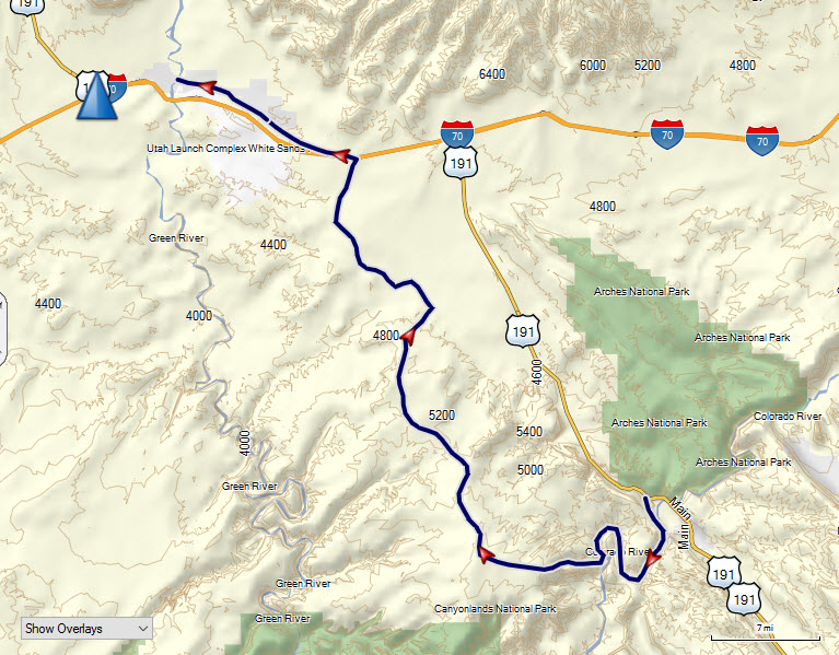 Moab to Green River Trail
