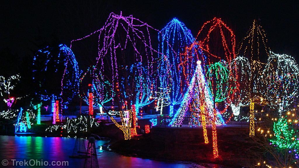 Columbus Zoo Lights 2017
