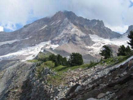 But running the ridge sure looks tempting.