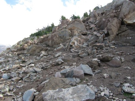 Next time I think I will start the rock scamble sooner. Even though the rock is a mess it would be better then the mud.