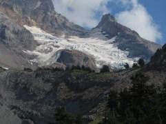 Looking over Yocum Ridge tot he Read Glacier.