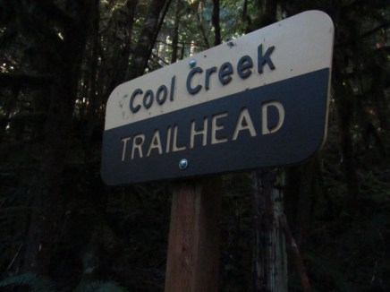 Cool Creek Trail Sign