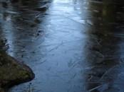 Ice on Rush Creek.