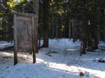 Snowshoe around Barlow Butte