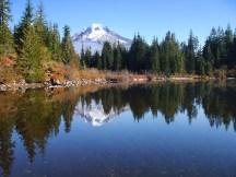 Mt. Hood from Mirror Lake.