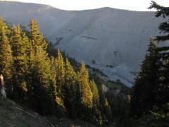 Lateral Moraine on Clark Creek