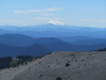 It was not a real clear day but we could see Mt. Jefferson.