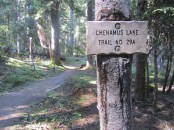 Trail 29a to Chenamus Lake