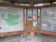 Gale Creek Overlook - Sign