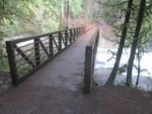 Bridge over Lacamas Creek.