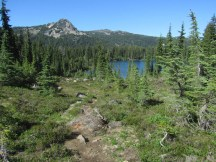 Park Butte and Scout Lake