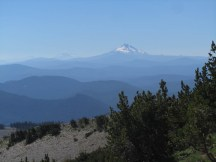 Mt. Jefferson and Three Sisters.