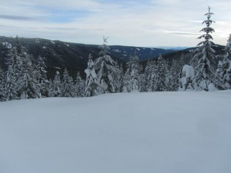 Looking out over White River Canyon to Eastern Oregon.