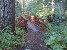 I went as far as the bridge over the creek that drains the Meadow with no sign of access.