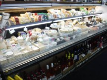 Variety of special cheeses