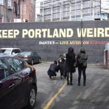 Keep Portland Weird Sign