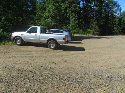 Bald Mt. Parking Lot