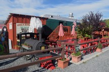 One of the eateries as part of the Mt. Rainier Railroad.