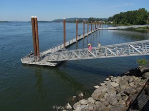 Dock at Steamboat Landing