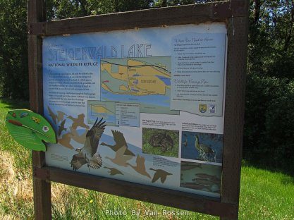 Entering Steigerwald Lake National Wildlife Refuge