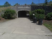 Pedestrian Tunnel leads to Washougal downtown