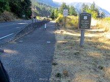 Trail Leaving Cascade Locks