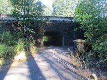 Tunnel under I5 freeway