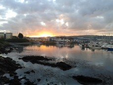 Plymouth Harbour dawn