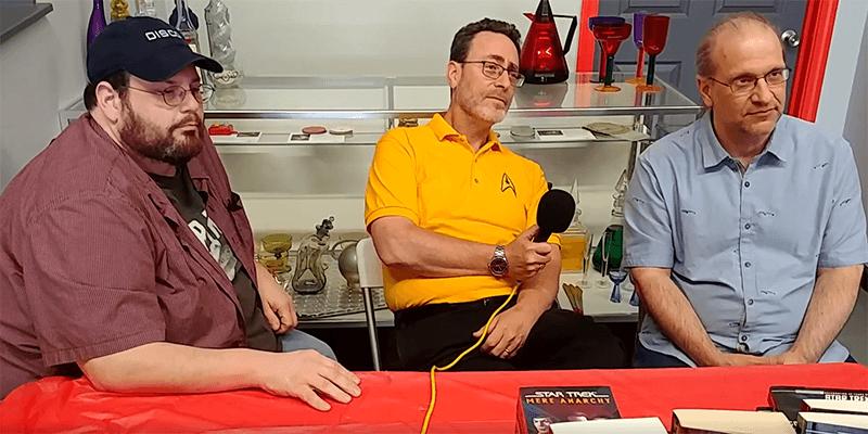Treksphere on YouTube – Triple Threat Trek – Trek Authors Interview