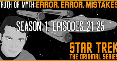 Truth OR Myth?  Error Error Mistakes TOS (part 5)