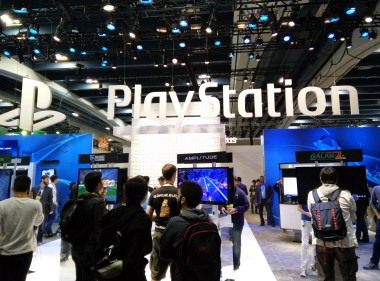 Playstation's booth