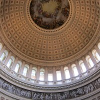 US Capitol Dome and Frieze