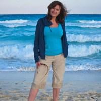 Kathy on El Rey Beach