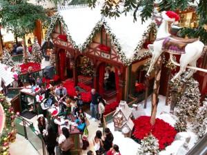Santas Village in South Coast Plaza