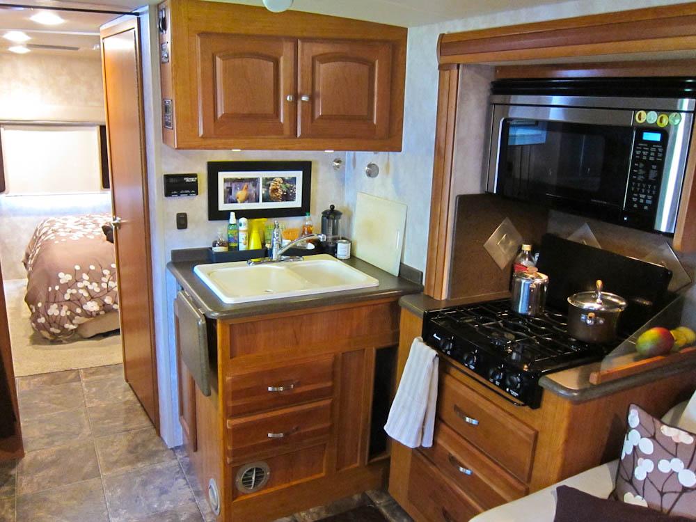 Our RV's Kitchen