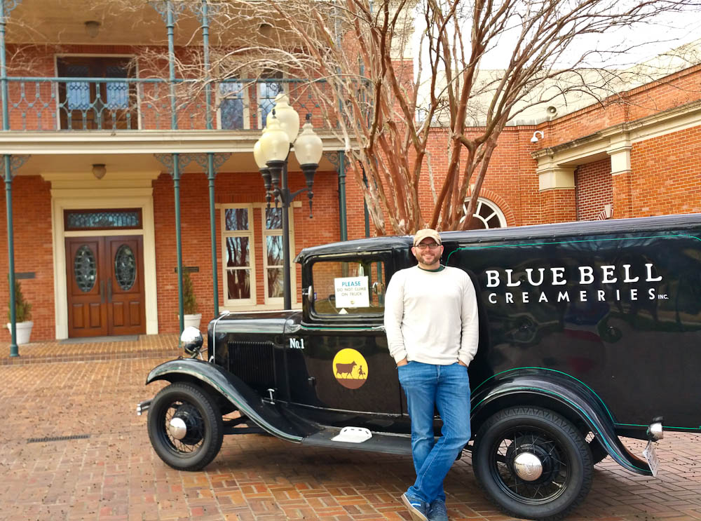 Rich at Blue Bell Ice Cream