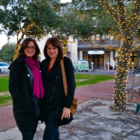 Kathy with Heather in Florida