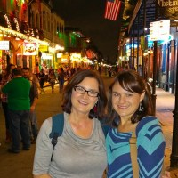 Kathy & Heather in the French Quarter