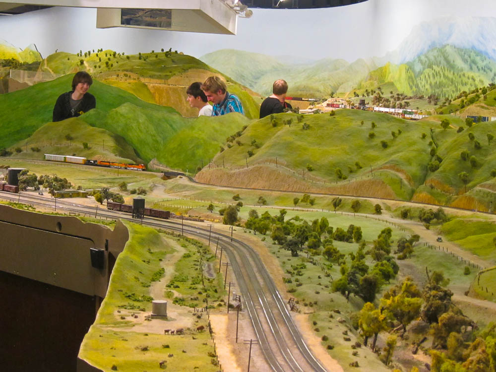 More Model Trains